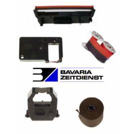 Farbbandkassette für Modell Bürk K 600 + K 675 schwarz/rot Breite 15 mm