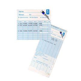 Stechuhr mit Tagessumme Stempeluhr Zeiterfassung BZ141600 MAX ER 1600