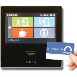 BÜRK ZWS Web RFID Zeiterfassung für Kommen + Gehen