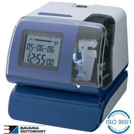 Stempeluhr für Werkstatt Reparatur Aufträge Stechuhr Amano BS 200 PIX 200