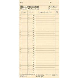 500 Stück Stempelkarte ZS 03 für Horada Werkstatt Zeit und Datumstempler