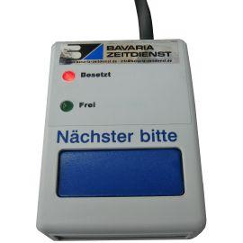 Personen Aufruf Anlage bitte eintreten / bitte warten BZ11PAA2 Aufrufsystem