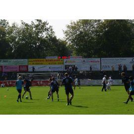 Spielzeit- und Ergebnisanzeige für Fussball Heim + Gast